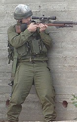 Operator armed with the Ruger 10/22