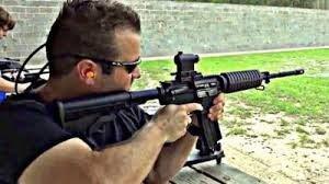 AR-15 at the Range