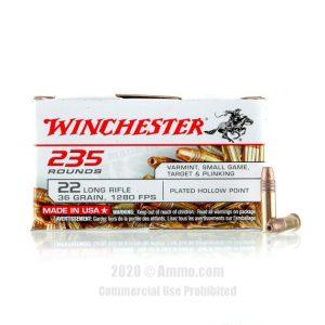 Winchester 22 LR Ammo