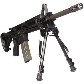 UTG Tactical OP Bipod on a rifle